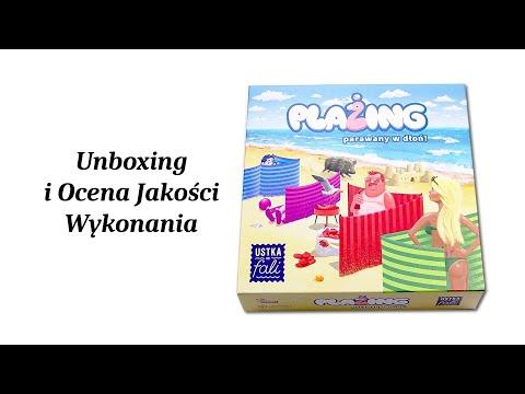 Plażing - Gra Planszowa - Unboxing i Ocena Jakości Wykonania