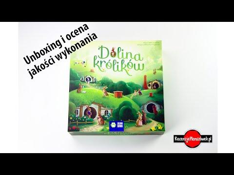 Dolina Królików - Unboxing i Ocena Jakości Wykonania Gry Planszowej.