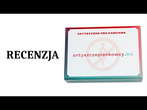 Antyszczepionkowcy.biz - Gra Karciana - Recenzja