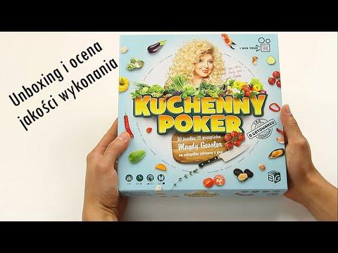 Kuchenny Poker - unboxing i ocena jakości wykonania