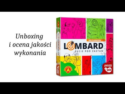 Lombard Życie Pod Zastaw - Unboxing i Ocena Jakości Wykonania Gry Planszowej.