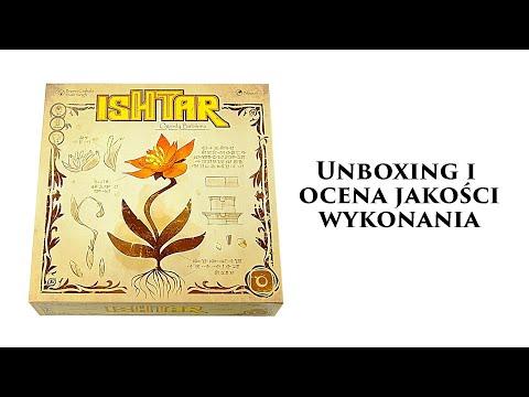 Ishtar - Gra Planszowa - Unboxing i Ocena Jakości Wykonania